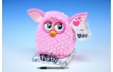 Furby plyš 20cm světle růžový na podstavci od 10 měsíců