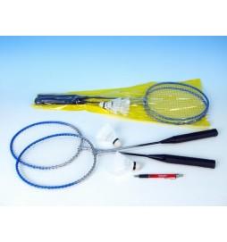 Badminton sada 2 rakety + 2 míčky  v tašce