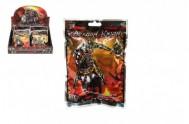 Figurka bojovník rytíř plast v sáčku 12x16x2cm