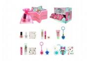 Sada s překvapením pro holky šminky/make-up v krabičce 10x6x10cm
