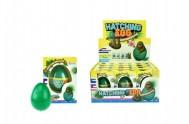 Rostoucí vejce lenochod plast 6cm v krabičce 7x10x5cm