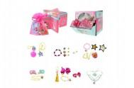 Sada s překvapením pro holky šperky a doplňky v krabičce 10x6x10cm 12ks v boxu