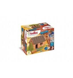 Stavebnice Teifoc Malý domek 35ks v krabici 18x15x8cm