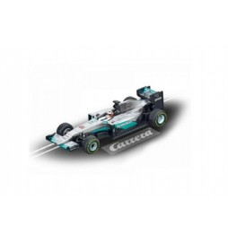 Auto k autodráze Carrera GO!!! formule Mercedes F1 WO7 Hybrid L. Hamilton 12cm na kartě