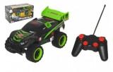 Auto RC terénní plast 32cm na dálkové ovládání + bateriový pack se světlem v krabici 41x22x20cm