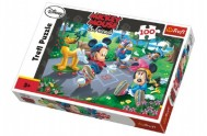 Puzzle Mickey 100 dílků 41x27,5cm v krabici 29x20x4cm