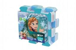 Pěnové puzzle Ledové království/Frozen 32x32x1cm 8ks v sáčku - Rock David