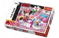 Puzzle Minnie a Daisy Disney 27x20cm 30 dílků v krabičce 21x14x4cm