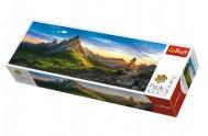 Puzzle  Passo di Giau, Dolomity panorama 1000 dílků 97x34cm v krabici 40x13x7cm