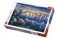 Puzzle Ostrov Mykonos při západu slunce 1500 dílků 85x58cm v krabici 40x26x6cm