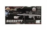 Pistole skládací plast 72cm na měkké vodní kuličky 7-8mm v krabici 49x25x6cm