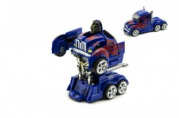 Auto robot/truck plast 13cm - Rock David