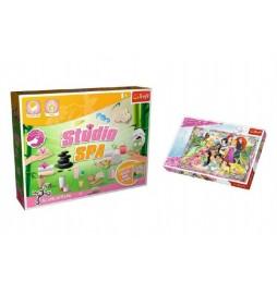 PACK Science for you Studio SPA 21 pokusů + Puzzle Disney Princezny 260 dílků v krabici 40x26x13cm