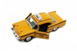 Auto taxi kov 12cm na baterie se světlem a zvukem - Rock David