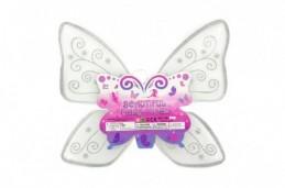 Křídla motýlí nylon 49x43cm v sáčku karneval - Rock David