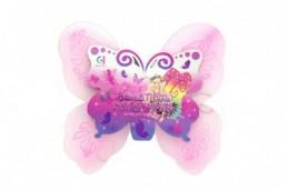 Křídla motýlí 39x36cm nylon v sáčku karneval - Rock David
