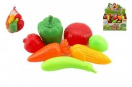 Ovoce a zelenina plast 7ks v síťce - Rock David