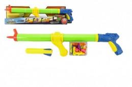 Pistole na vodní bomby 3v1 plast 60cm v krabici - Rock David