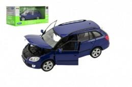 Auto Welly 2009 Škoda Fabia Combi II kov/plast 1:24 v krabici 23x10x11cm - Rock David