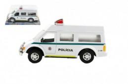 Auto policie kov 25cm na setrvačník v blistru - Rock David
