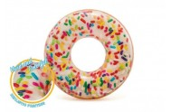 Kruh donut nafukovací 114cm 9+