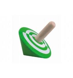 Káča zelená dřevo 6cm v sáčku