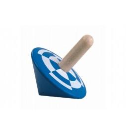 Káča modrá dřevo 6cm v sáčku