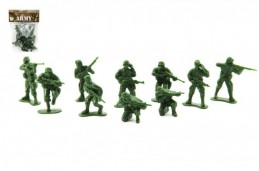 Sada vojáci plast CZ design na kartě 11,5x17cm - Rock David