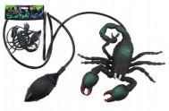 Škorpion skákací plast 12cm v sáčku