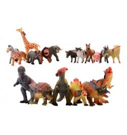 Gumová zvířátka velká Animal World