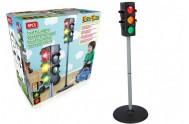 Semafor funkční plast 75x25cm na baterie v krabici 26x25x13cm