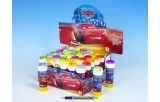 Bublifuk 60ml Cars 11,5cm 5 barev 36ks v boxu