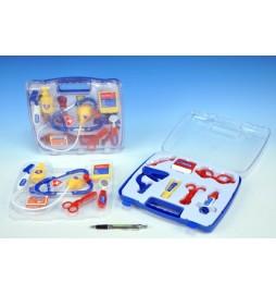 Doktorský kufřík plast 26x24cm 14ks v kufříku