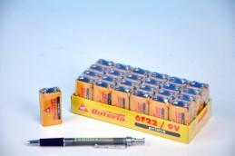 Baterie Prima 6F22/9V zinkochloridové 24ks v boxu - Teddies s.r.o