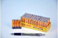 Baterie Ultra Prima R03/AAA 1,5V zinkochloridové 4ks ve folii 15ks v boxu