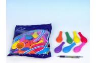Balonek nafukovací 7 karneval 100ks v sáčku