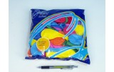 Balonek nafukovací 8 pastelové 100ks v sáčku