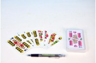 Mariáš dvouhlavý společenská hra karty v plastové krabičce