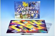 Souboj mozků společenská hra v krabici 33x23x3cm