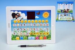 Krtkův naučný tablet pro nejmenší Krtek 24,1x18,7x1,8cm na baterie v krabici - Teddies s.r.o