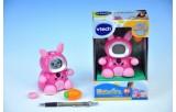 Kidiminiz VTech králíček růžový česky mluvící na baterie 3xAAA v krabičce