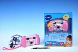 Kidizoom Kid Connect Fotoaparát - růžový Vtech plast 14cm na baterie na kartě - Teddies s.r.o