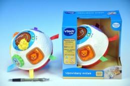 Upovídaný míček Vtech pro nejmenší plast 15cm na baterie se zvukem se světlem v krabici od 6 měsíců - Teddies s.r.o