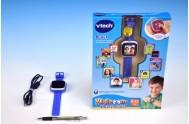 Kidizoom VTech Smart hodinky modré s fotoaparátem a videokamerou a doplňky na baterie v krabici