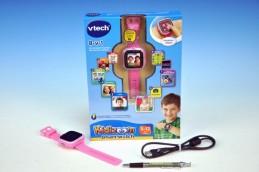 Kidizoom VTech Smart hodinky růžové s fotoaparátem a videokamerou a doplňky na baterie v krabici - Teddies s.r.o