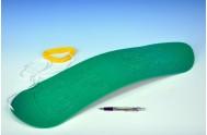 Snowboard plast 70cm zelený