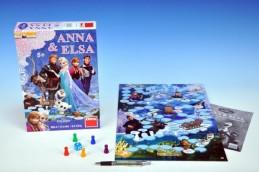 Ledové království Anna a Elsa Frozen společenská hra v krabici 20x29,5x6,5cm - Rock David