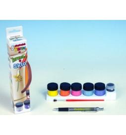 Barvy na keramiku a sklo 6ks v krabičce