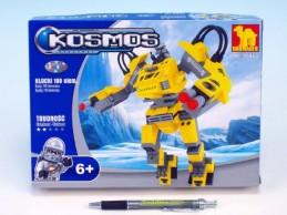 Stavebnice Dromader Kosmický Robot 25463 199ks v krabici 25,5x18,5x4,5cm - Rock David