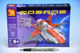 Stavebnice Dromader Kosmická loď 25468 140ks v krabici 22x15x4,5cm - Rock David